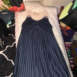 Dresses & Skirts - Blue striped dress